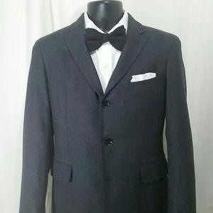 BANANA REPUBLIC Gray Tailored Fit Blazer Size 38 S